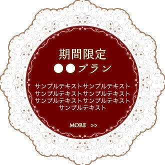 期間限定○○プラン
